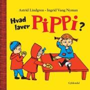 hvad laver pippi? - bog