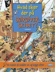 hvad sker der på sørøverskibet? - bog
