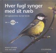 hver fugl synger med sit næb. incl. cd - bog