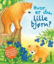 hvor er du, lille bjørn? - bog
