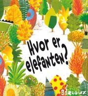 hvor er elefanten? - bog