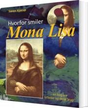 hvorfor smiler mona lisa? - bog