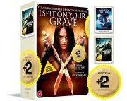 i spit on your grave / identity of a killer / house of the rising sun - DVD