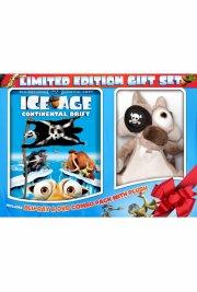 ice age 4: på gyngende grund - inkl. tøjdyr - Blu-Ray