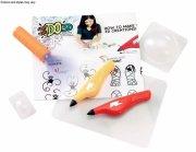 ido3d 3d pen - zoo - gul / lilla - Kreativitet