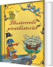 illustrerede pirathistorier - bog