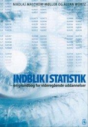 indblik i statistik - bog