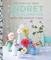 indret med blomster - bog