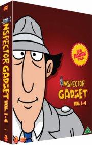 inspector gadget vol. 1-4 - DVD