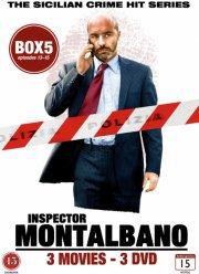 inspector montalbano - box 5 - episode 13-15 - DVD
