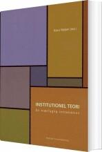 institutionel teori - bog