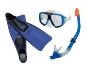 intex snorkelsæt / dykkersæt - reef rider - mørkeblå - Bade Og Strandlegetøj
