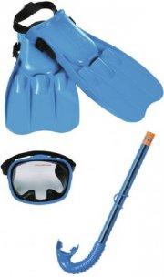 intex snorkelsæt / dykkersæt - lyseblå - Bade Og Strandlegetøj