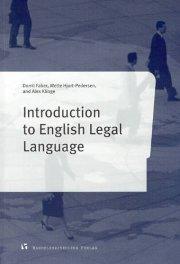 introduction to english legal language - bog