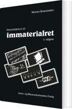 introduktion til immaterialret - bog
