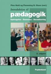 introduktion til pædagogik - bog