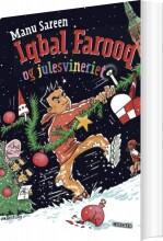 iqbal farooq og julesvineriet - bog
