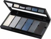 isadora øjenskyggepalette - eye color bar - 64 grey temptation - Makeup