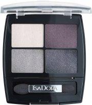 isadora øjenskyggepalette - eye shadow quartet - crystal mauve - Makeup