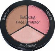 isadora contour sæt - face sculptor - cool pink - Makeup