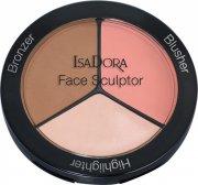 isadora contour sæt - face sculptor - warm peach - Makeup