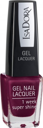 neglelak / negle lak gel - isadora - dark temptation - Makeup