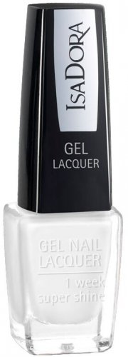 neglelak / negle lak gel - isadora - french tip - Makeup