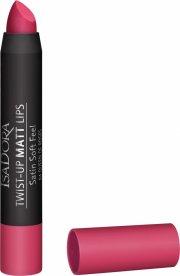 læbestift - isadora twist-up matt lips - queen of roses - Makeup