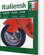 italiensk - svensk, dansk, norsk - bog