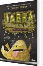 jabba overgiver sig aldrig - bog