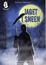 jaget i sneen - bog