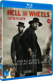 hell on wheels - sæson 1 - Blu-Ray