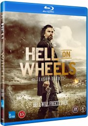 hell on wheels - sæson 4 - Blu-Ray
