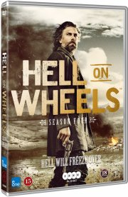 hell on wheels - sæson 4 - DVD