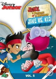 jake og piraterne på ønskeøen - jake vs. klo - DVD