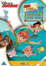 jake og piraterne på ønskeøen - sæson 1 - vol. 1 - peter pan vender tilbage - DVD