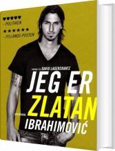 jeg er zlatan ibrahimovic - bog