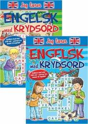 jeg lærer engelsk med krydsord 1-2  - pk m 12 stk. ass