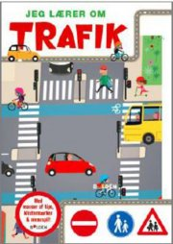 jeg lærer om trafik - bog
