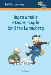 jeg læser. ingen smalle steder sagde emil fra lønneberg - bog
