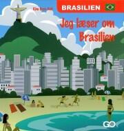 jeg læser om brasilien - bog