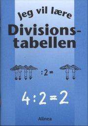 jeg vil lære - divisionstabellen - bog