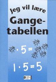 jeg vil lære - gangetabellen - bog