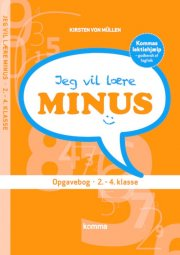 jeg vil lære - minus - bog