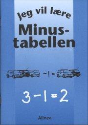 jeg vil lære, minustabellen - bog