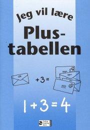 jeg vil lære, plustabellen - bog