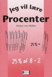 jeg vil lære, procenter - bog