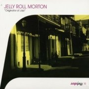 jelly roll morton - originator of jazz - cd