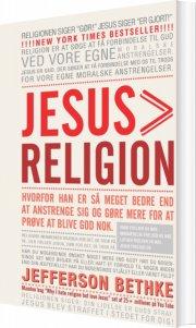jesus > religion - bog