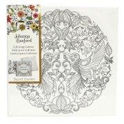 johanna basford - lærred på ramme - secret garden, kolibri - Kreativitet
